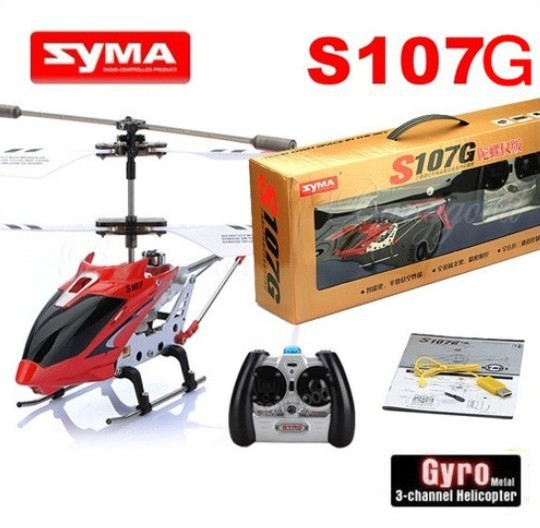 2015 Hot Sale Syma Series 107G S107 GYRO 3CH Infrared Remote Control RC Indoor Mini Helicopter RTF(China (Mainland))