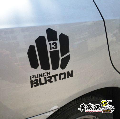 Monoboard skiing burton hf refit jdm reflective stickers motorcycle car stickers car sticker c89(China (Mainland))