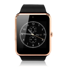 Smart Watch Passometer GT08 with Pulse Monitor GPS Hands Free Speaker Support SIM for Androld and iOS