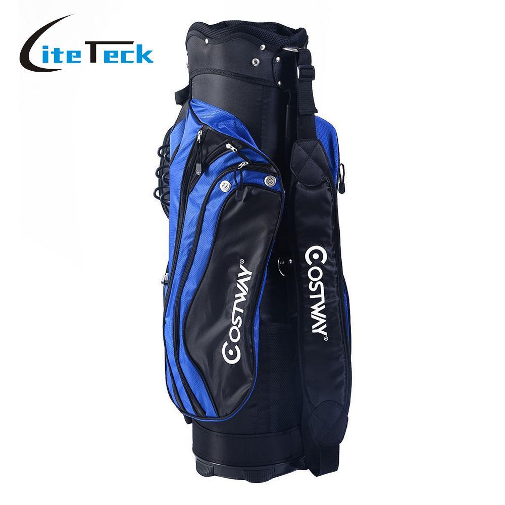 Golf Carry Bag Lightweight Golf Rack Bag with Rain Cover 14 Way Divider Golf Cart Bag(China (Mainland))