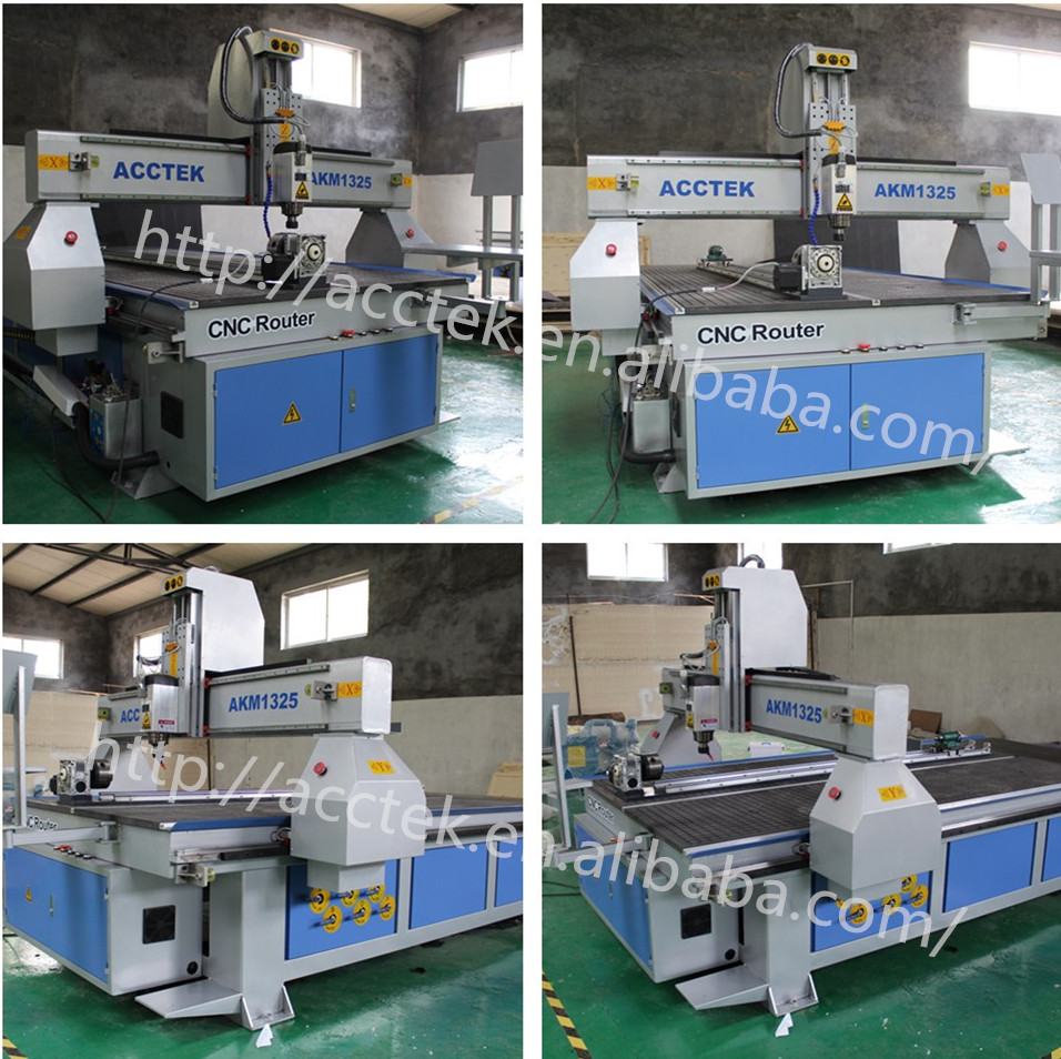 ACCTEK rotary axis vacumm table woodworking cnc machines for sale(China (Mainland))