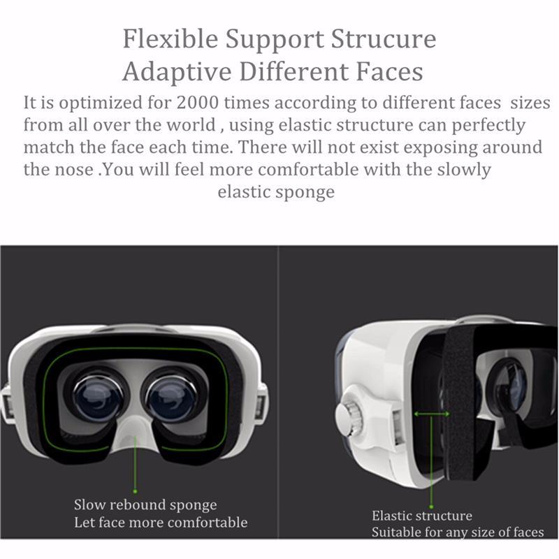 ถูก Z4 4-6นิ้วโทรศัพท์มือถือvrกล่อง3d googleกระดาษแข็งVRแว่นตาเสมือนจริงชุดหูฟังภาพยนตร์วิดีโอVRแว่นตา+ระยะไกลควบคุม