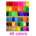 1000 PCS Bag 5mm Hama Beads 48 Colors For Choose Kids Education Diy Toys 100 Quality