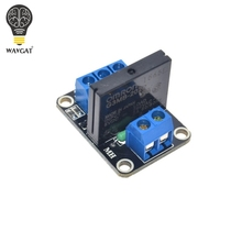 Free shipping 5V 1 Channel OMRON SSR High Level Solid State Relay Module 250V 2A For Arduino.We are the manufacturer(China (Mainland))