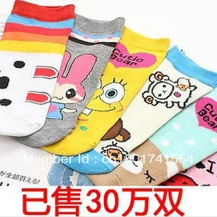 AW211Promotion HIGH QUALITY baby socks girl children cotton sock free shipping