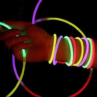 100 x 20CM Multi Color Glow Stick Light Bar Party Fun Safety Glowstick Glowsticks Bracelet Bracelets + 100 PCS Bonus Connectors(China (Mainland))