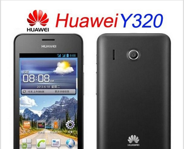 Russian Multi Languages HuaWei Y320 4 Inch MTK6572 Dual Core Cheap Price Dual Sim Android 3G GPS Bluetooth Smart Phone(China (Mainland))