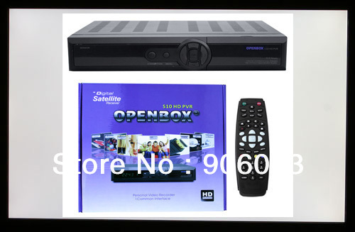 Free DHL shipping TV receiver 100% Original Openbox S10 HD PVR cccam sharing newcam with sharp tuner skybox