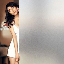 Buy 45*200cm Window Films Scrubs Frosted Privacy Frost Home Bedroom Bathroom Glass Self-adhesive Window Film Sticker for $7.64 in AliExpress store