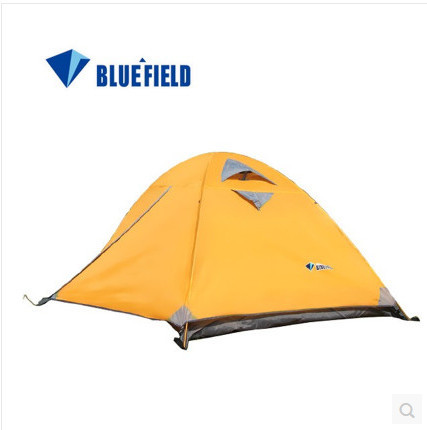 Best quality outdoor camping tent Wind waterproof breathable 2-4 person tents mosquito tent net free shipping(China (Mainland))