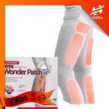 Korea model favorite slim product lose weight leg arm thigh slim patch 18pcs/ Lot