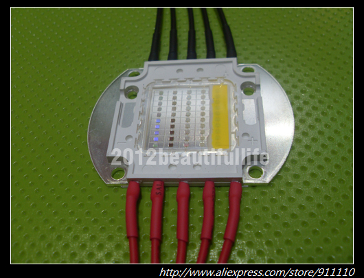 50w full spectrum 5 channel led aquarium light(China (Mainland))
