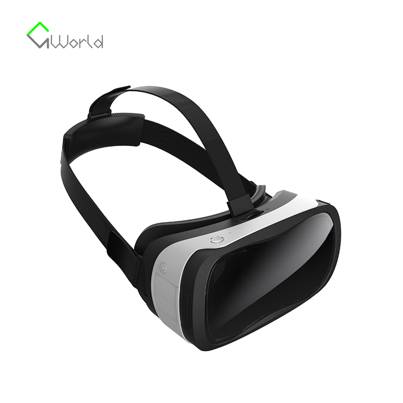 Original VR 3D Full Immersive Helmet Virtual Reality Glasses 3D Private Cinema For 4.7 inch ~ 5.5 inch Phone