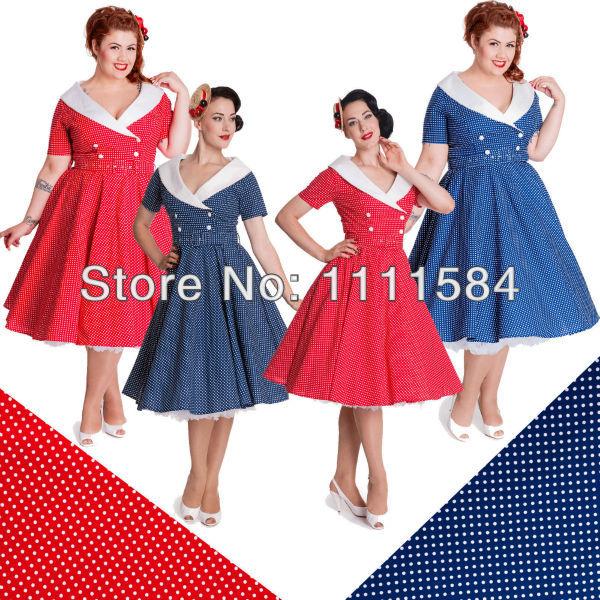 Cheap Vintage Plus Size Dresses