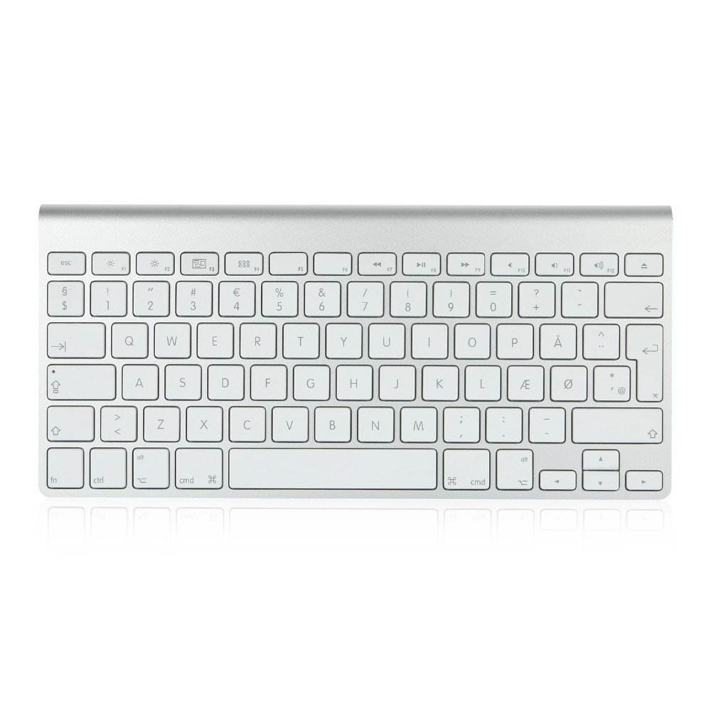 Denmark Version Original Wireless Keyboard Model for Apple(China (Mainland))