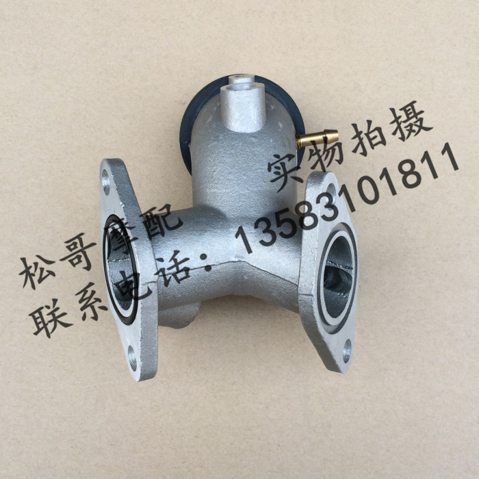 Lifan 250 250-P engine intake manifold intake manifold components of double-cylinder electronic fuel injection special(China (Mainland))