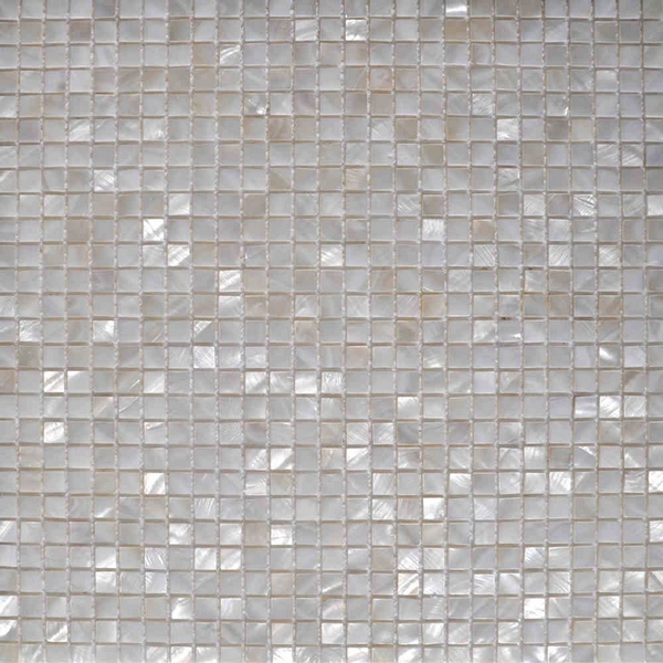 mini 1cmx1cm square white mother of pearl shell mosaic mesh backing bathroom shower kitchen backsplash fireplace<br><br>Aliexpress