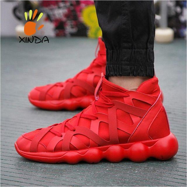 Горячая распродажа новый мужской спорт свободного покроя обувь смешать мода мужчины ...