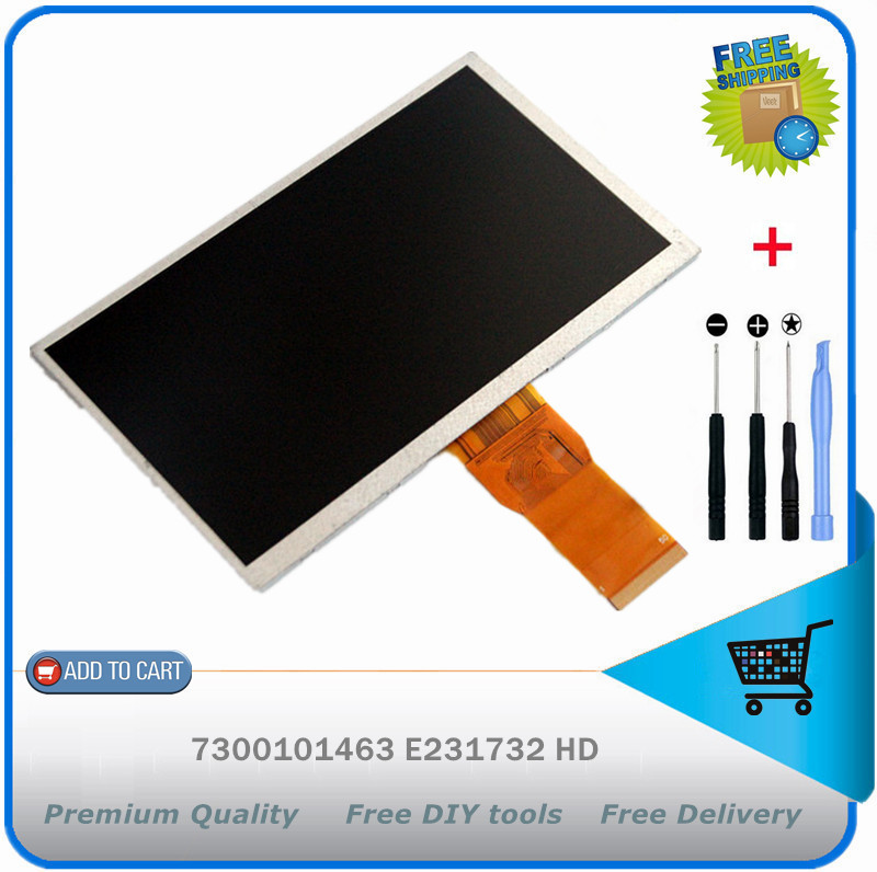 New 7 inch IPS inner LCD screen display panel WTC07010G06-21 73002017512E For Ainol NUMY 3G AX2 Tablet pc Free shipping + TOOLS<br><br>Aliexpress