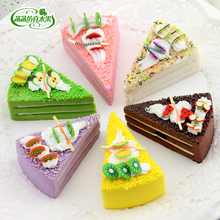 TB040 Artificial cake artificial fruit model multicolour cake fake fruit bread cake food set(China (Mainland))