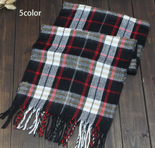 2015 New fashion burb Grid trench plaid Brand Silk men chiffon seda print ring shawl Long Scarves men size 140 *30(China (Mainland))