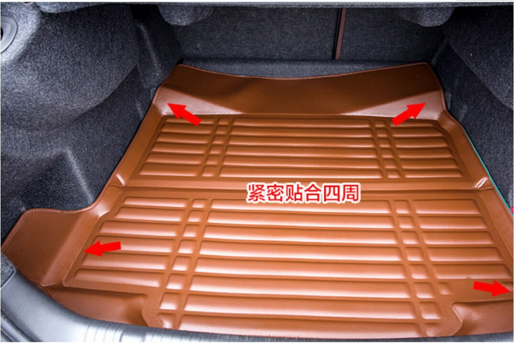 Free shipping!High Quality 3D leather Car boot Car trunk Mats for BYD F3/F3R/F6/S8/F0/G3/S6/L3/G6/G3R/S7/G5 china speed 7<br><br>Aliexpress