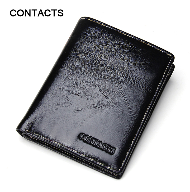 High Quality Men wallets Genuine Leather Oil Wax Leather short card holder wallet Fashion zipper coin pocket purse carteira<br><br>Aliexpress