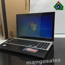 Free Shipping 15'' gaming laptop notebook computer 4GB DDR3 250GB HDD in-tel celeron J1900 2.0Ghz Quad Core WIFI webcam HDMI DVD(China (Mainland))