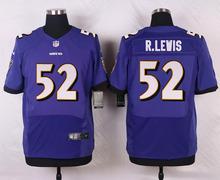 Baltimore Ravens #5 Joe Flacco Elite White Black Alternate and Purple Team Color High quality free shipping(China (Mainland))