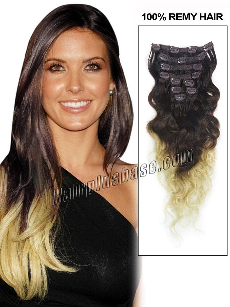 Brazilian Clip in Hair Extensions Hair Clip in Extensions