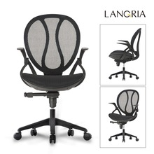 Ship from US! LANGRIA Office Chair Mid-Back Swivel Mesh Office Boss Lift Chairs with Adjustable Armrests Computer Desk Seat(China (Mainland))