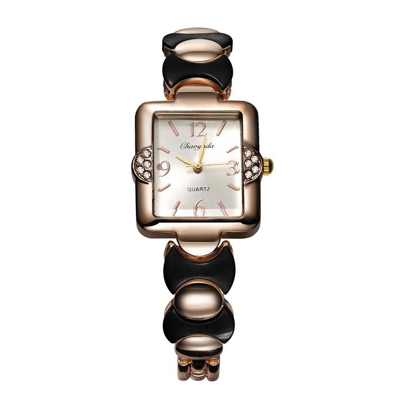 2016 новое прибытие zAlloy часы fashion square пару часов женские rosra