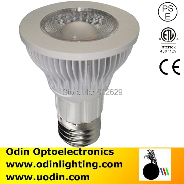 UL listed 3 year warranty 600lm dimmable 110V 120V par20 e27 led 6w goodbulb(China (Mainland))
