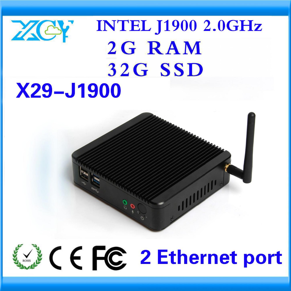 XCY INDUSTRAIL MINI PC Factory competitive price CPU J1900 and Graphics Card support Linux OS Ubuntu smaller space MNI COMPUTER(China (Mainland))