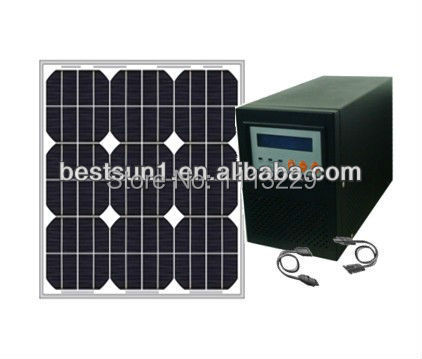 Factory Derect sale!!!China Manufacturer Off Grid solar generation system 100W-1KW Solar power home system(China (Mainland))