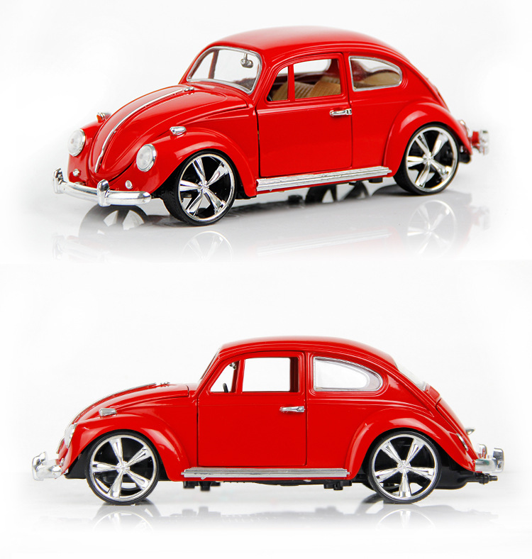 1:18 Scale Models Diecast Figure Vintage Classic Cars Alloy Vehicle Toys Educational Toys For Children Boys(China (Mainland))