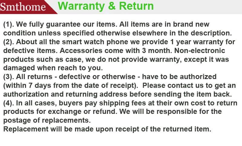 3-warranty and return