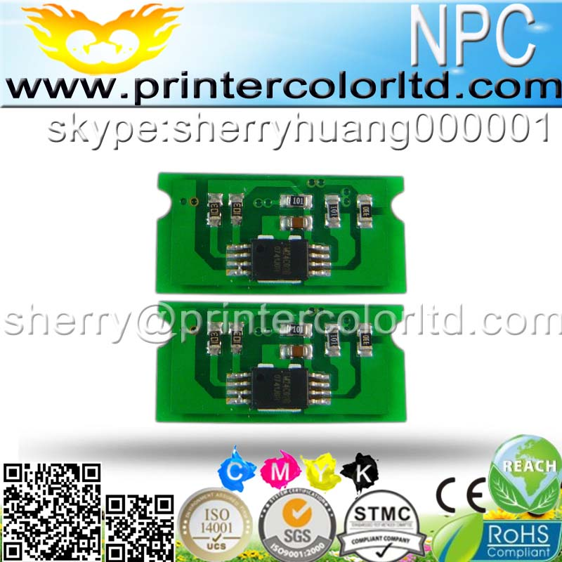 Compatible for Ricoh SP C310/C311 color laser printer cartridge refilled for Ricoh C310 toner reset chip(China (Mainland))