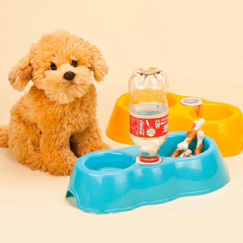 Puppy Dog Water Drinking Dispenser Feeder Fountain Pet Cat Bowl Automatic Bottle(China (Mainland))