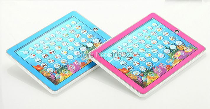 Wholesale, Y - PAD English and Spanish Language Learning Computer,Kid Touch Tablet Machine Toys,Baby Educational,Child Teaching(China (Mainland))