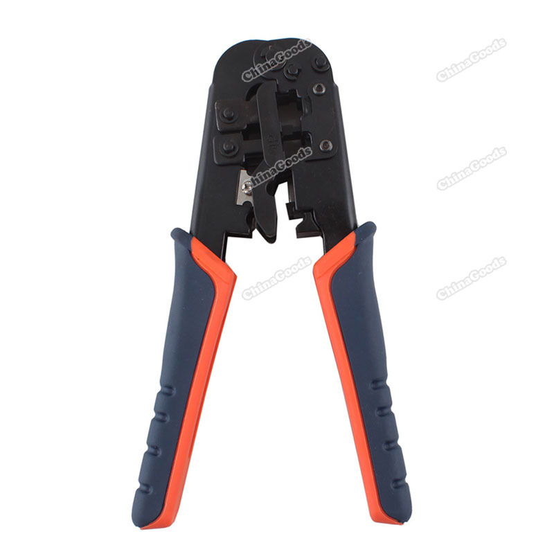 chinagoods Premium! RJ45 RJ11 RJ12 Wire Lan Network Cable Crimper Crimp PC Network Tool 8P 6P 4P #6 Lovely!(China (Mainland))