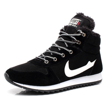 Snow boots men shoes botas masculina 2015 PU winter ankle boots Hot fashion casual Plus cotton Warm Winter men boots(China (Mainland))