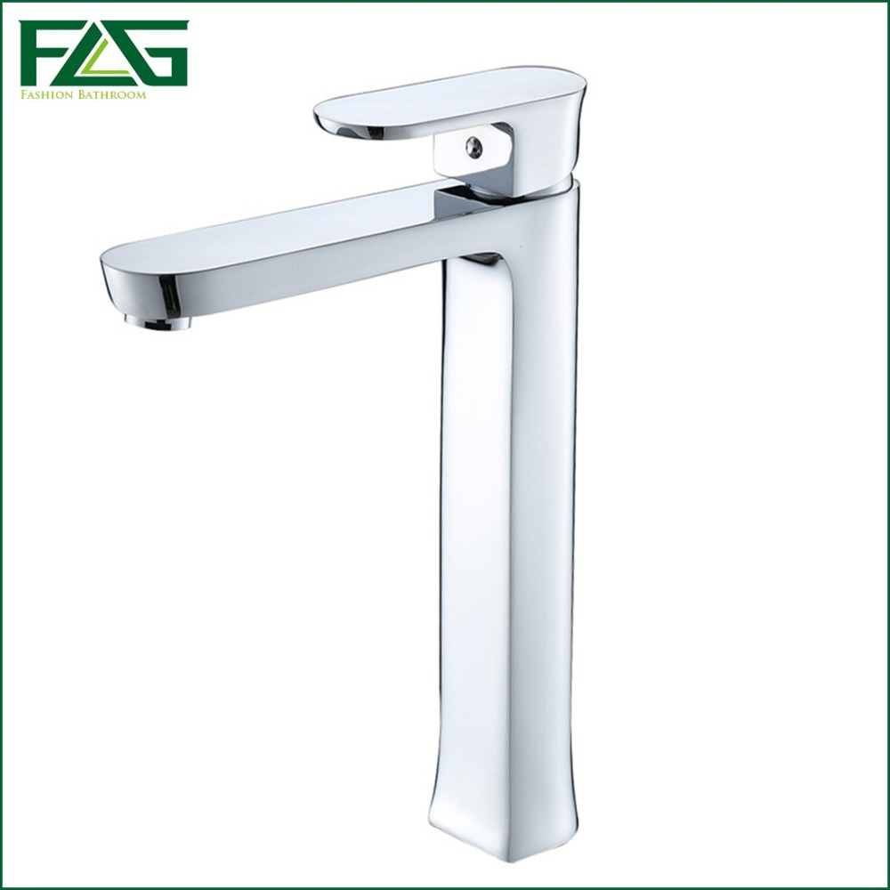 New Style Hot Sale Bath Mat Chrome Faucet Ceramic Torneira Lavabo Cold & Hot Deck Mounted Platform Heightening Mixer FLG100020(China (Mainland))