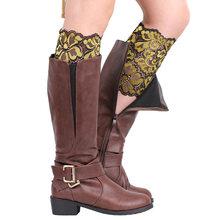 Bacak ısıtıcıları kadınlar için bot galoşları dantel varis çorabı çizme çorap kadın çorapları kadın calcetines mujer güzel(China)