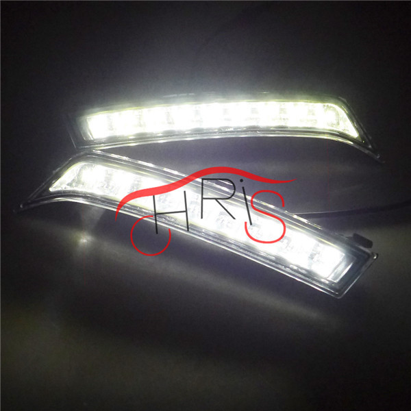 Ultra-bright  LED Daytime Running Light LED DRL light  FOR  Subaru forester 13 14 2013 2014  DRL Freeshipping