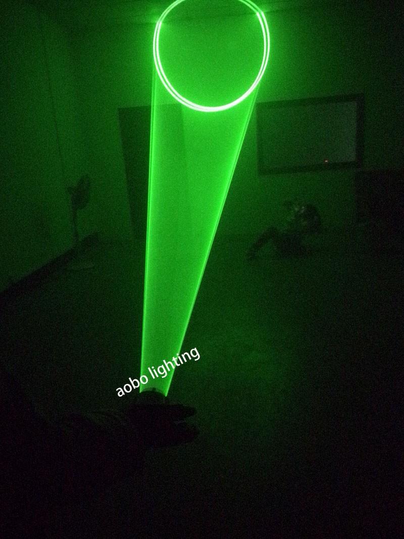 Купить Новый 532nm зеленые лазерные перчатки вихревой эффект этап лазерные лучи платной DJ ну вечеринку лазерное освещение левой или правой рукой