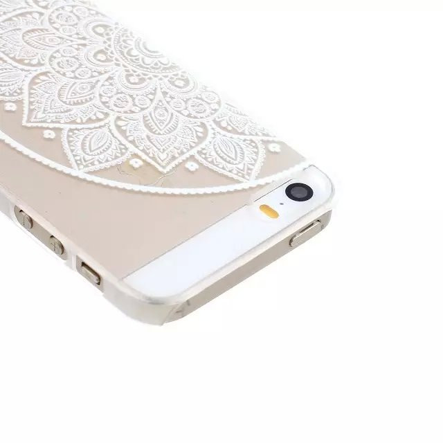 For iPhone 5s Case HENNA OJIBWE DREAM CATCHER Ethnic Tribal Plastic Back Cover For iPhone 5 5S SE Fundas Coque