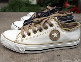 Casual canvas shoes 2013 summer shoes male low canvas shoes