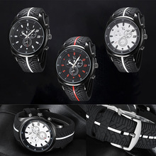 Buy Fashion Men Watch Cool Tire Silicone Clock Analog Military Man Sport Casual Wristwatch Gift 88 ~M24 for $5.70 in AliExpress store