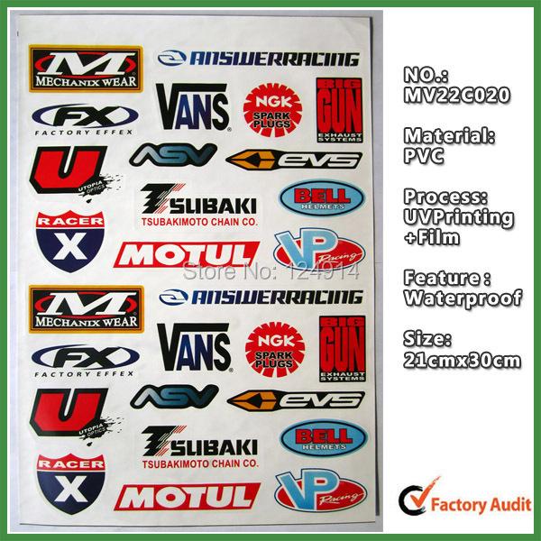 5 unids caliente venta apliques pegatina motocicleta - Pegatinas de pared baratas ...